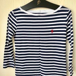 Womens Polo Ralph Lauren Striped T-Shirt